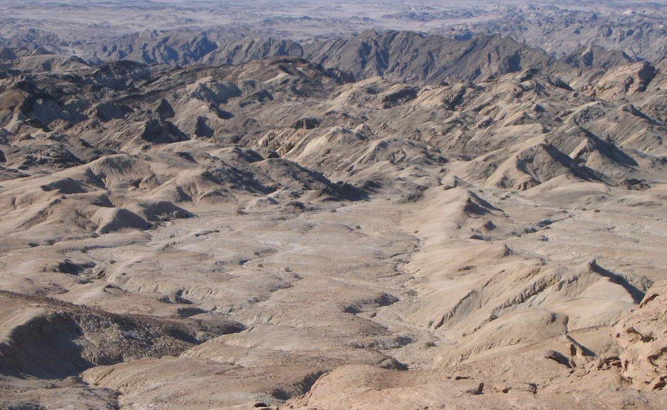 Mondlandschaft Namibia