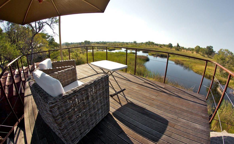 Aussichtsterrasse in Nkasa Lupala