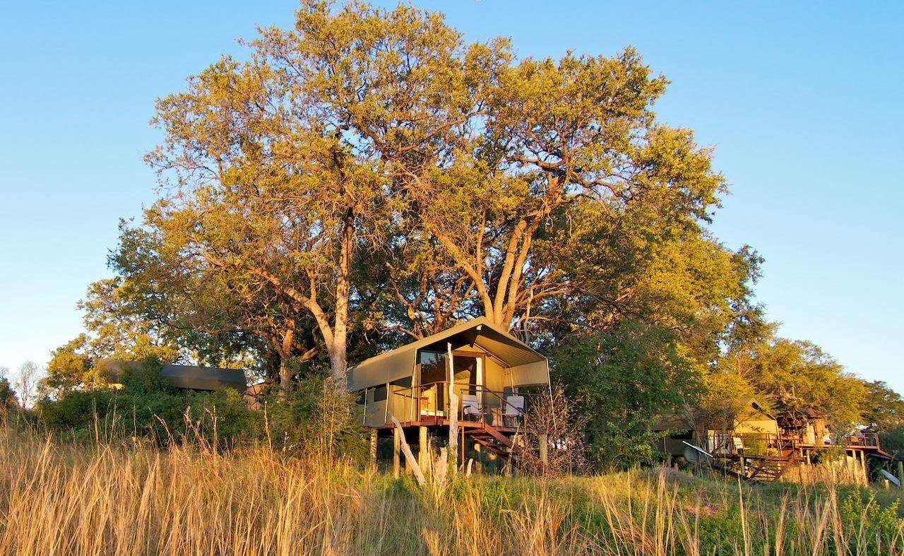 Zelt in Nkasa Lupala