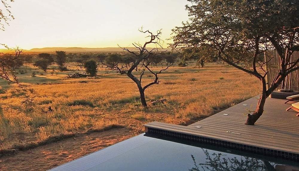 Otjimbondona - exklusive Lodge in Namibias Kalahari