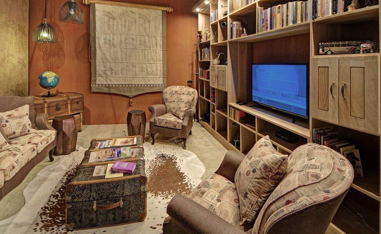 Cigar Lounge im Haupthaus von Otjimbondona