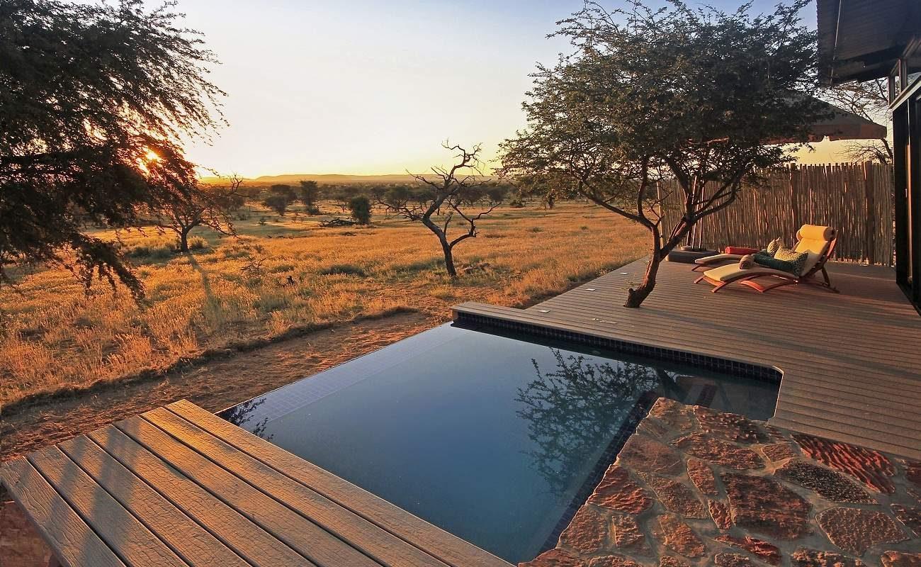 Plunge Pool der Villa Giraffe
