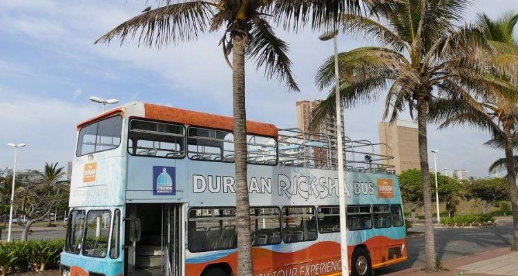 Ricksha Bus Durban - Sightseeing