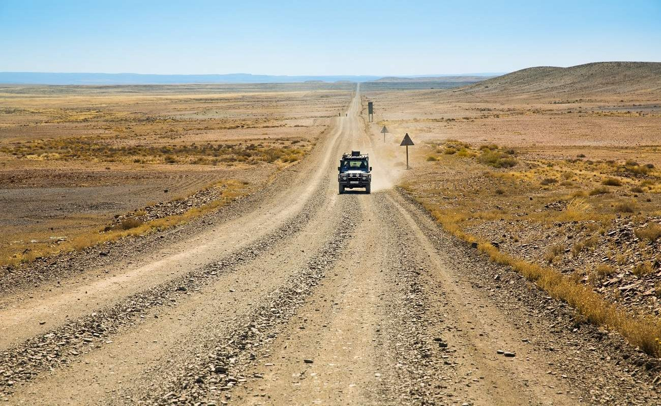 Unendliche Weite im Nordwesten von Südafrika