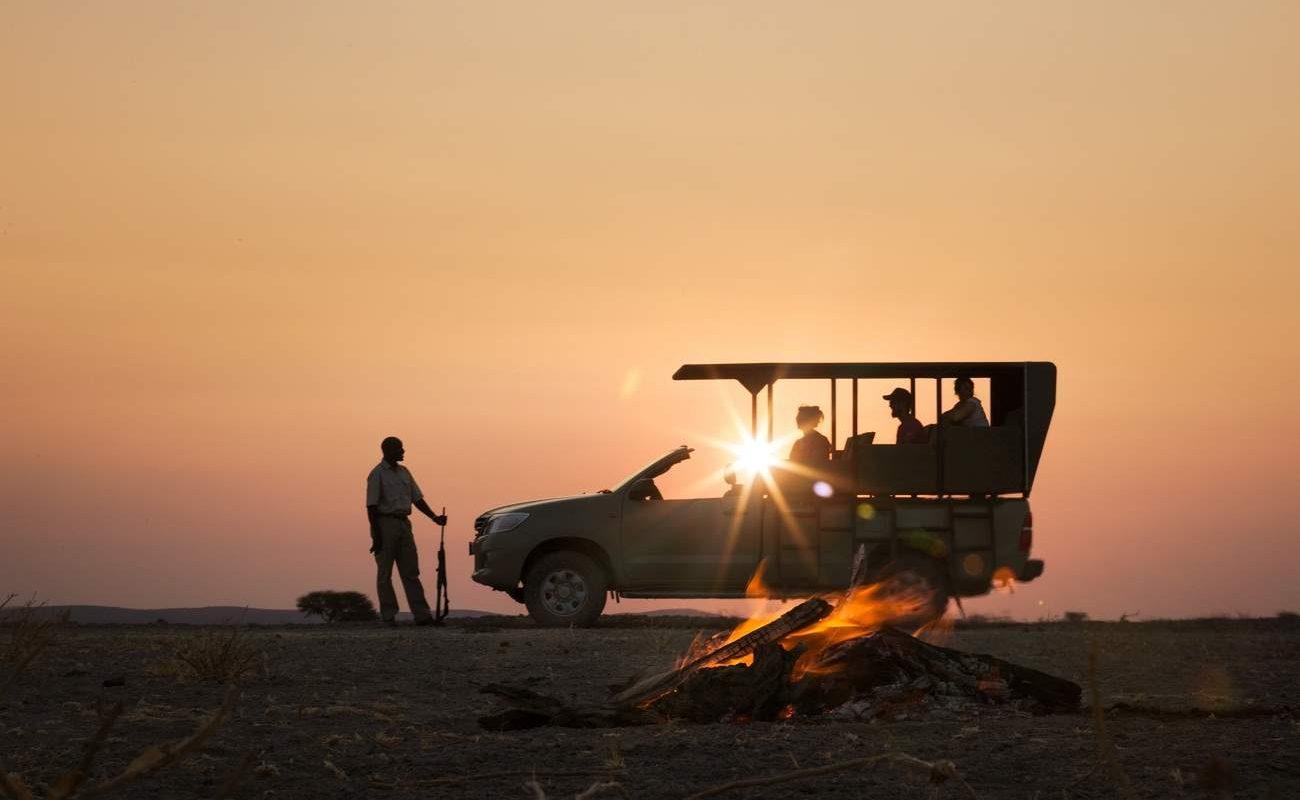 Sundowner in Etosha Heights