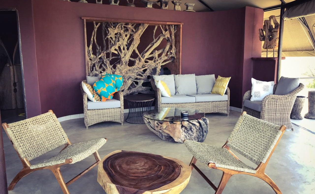 Die geschmackvolle Lounge