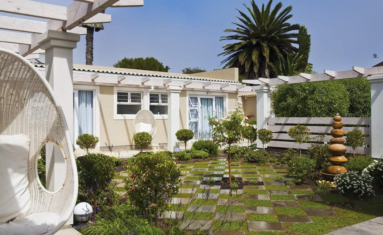 Garten des kleinen Gästehauses in Swakopmund