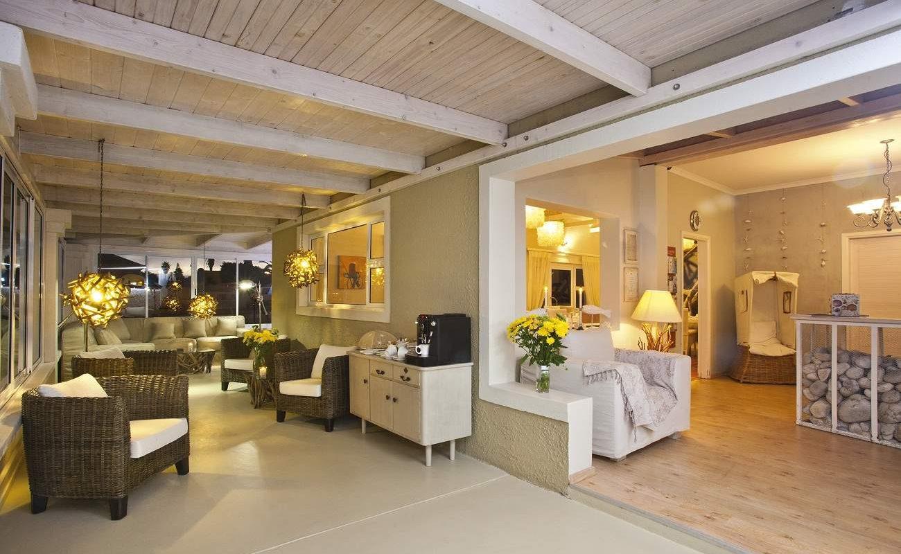 Lounge des luxuriösen B&Bs in Swakopmund