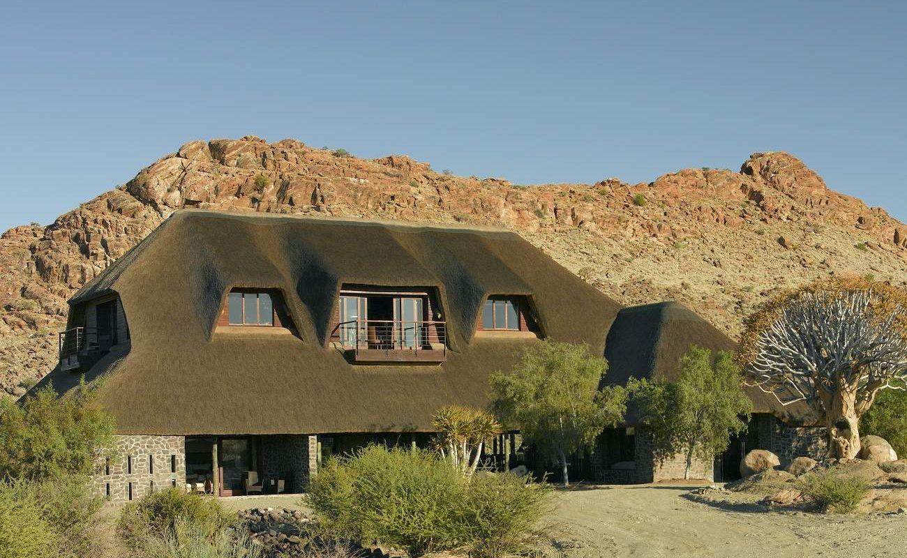 Haupthaus von Tutwa Desert