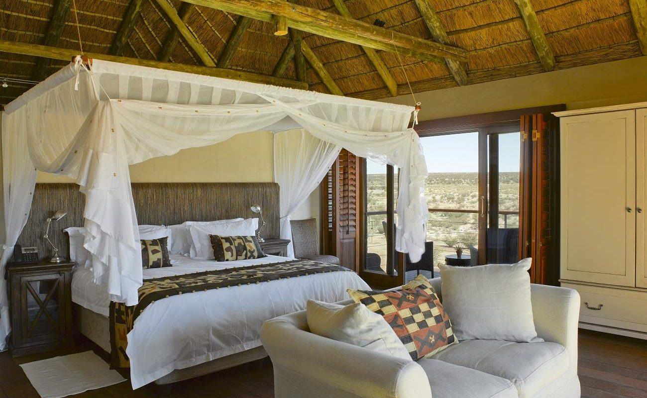 Suite der Tutwa Desert Lodge
