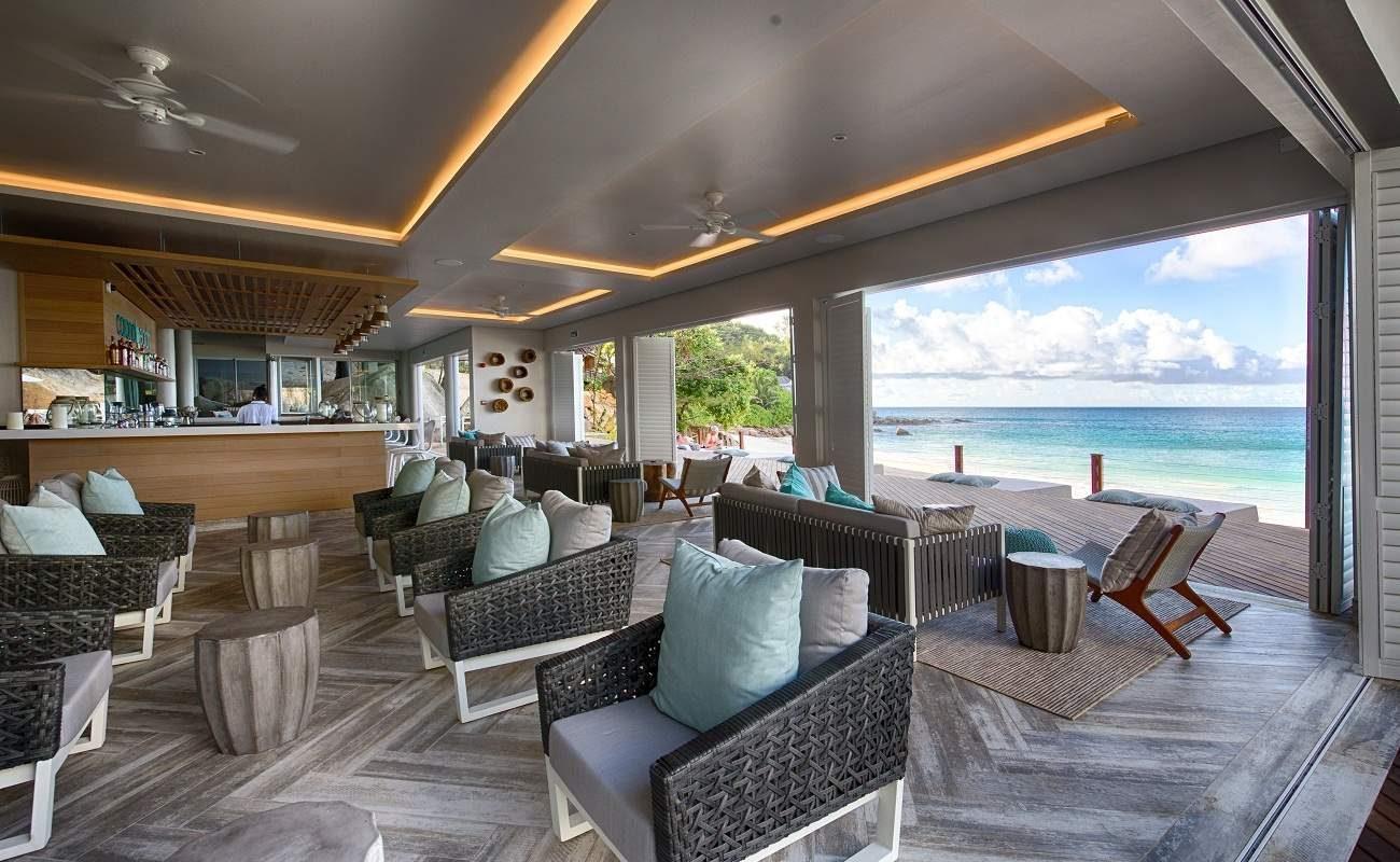 Beach Bar im Boutiquehotel auf Mahé