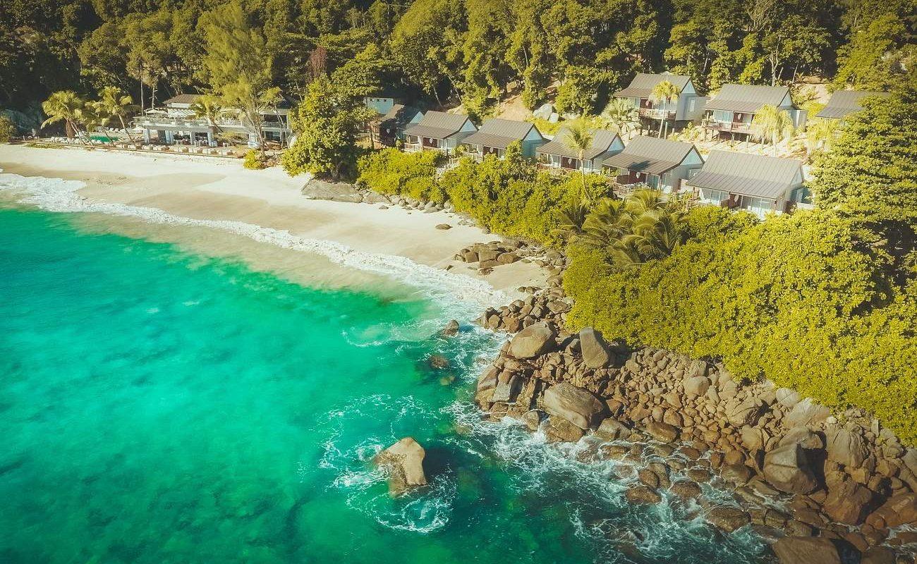 Gesamtansicht von Carana Beach