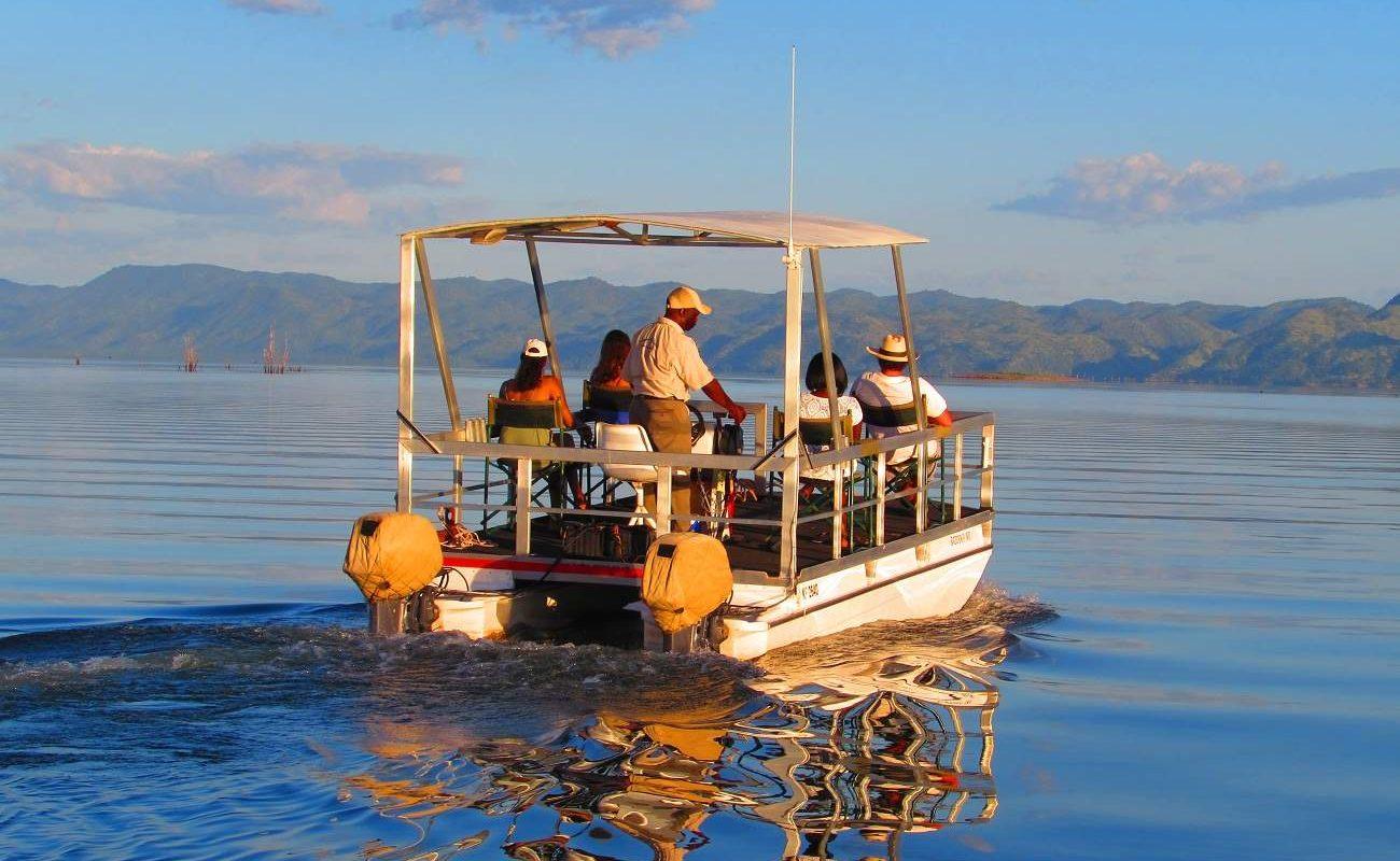 Bootsfahrt auf dem Lake Kariba