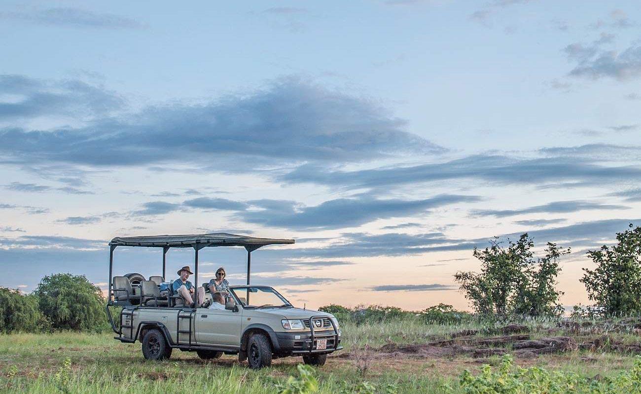 Pirschfahrt im Matusadona National Park