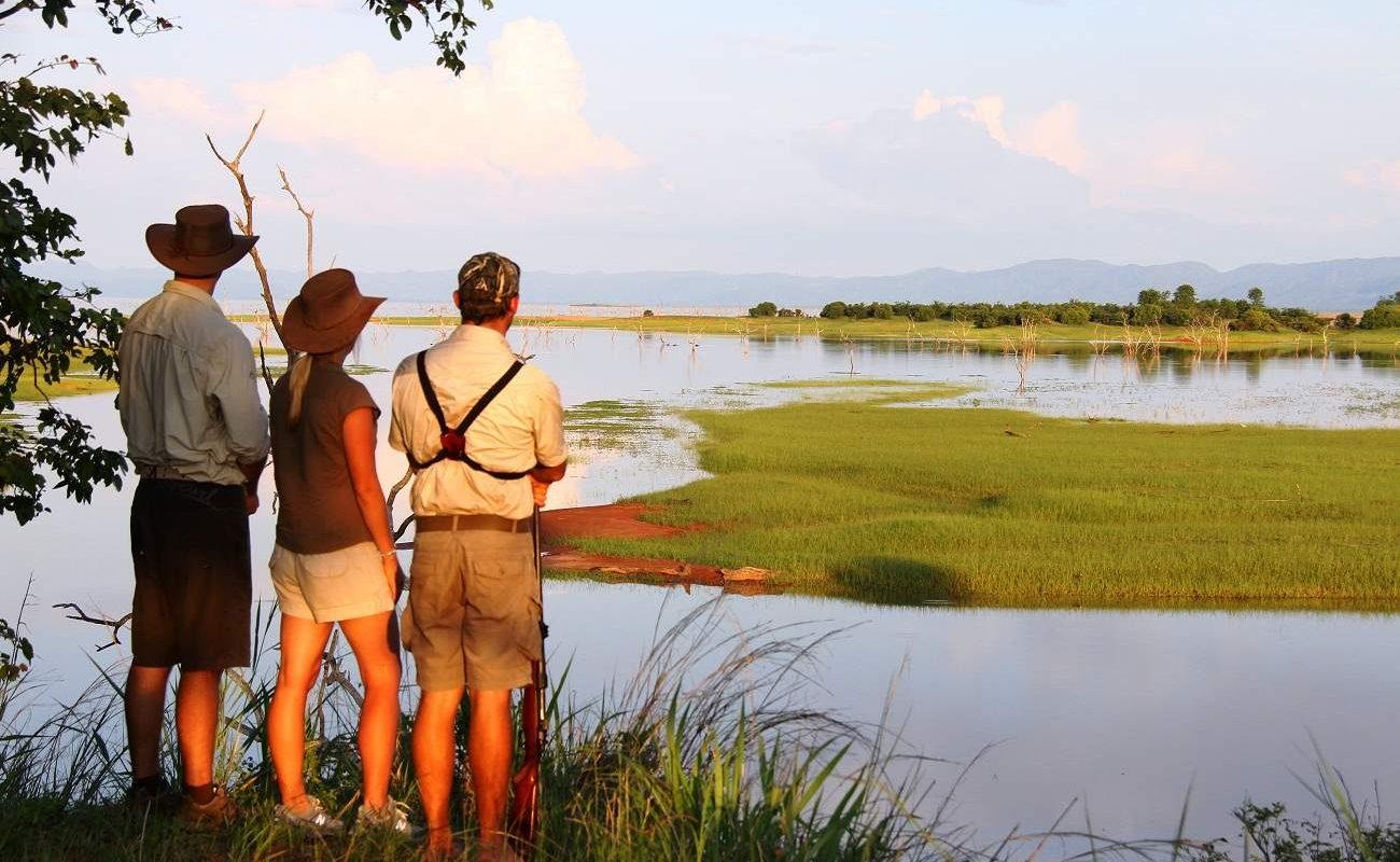 Pirschwanderung im Matusadona National Park