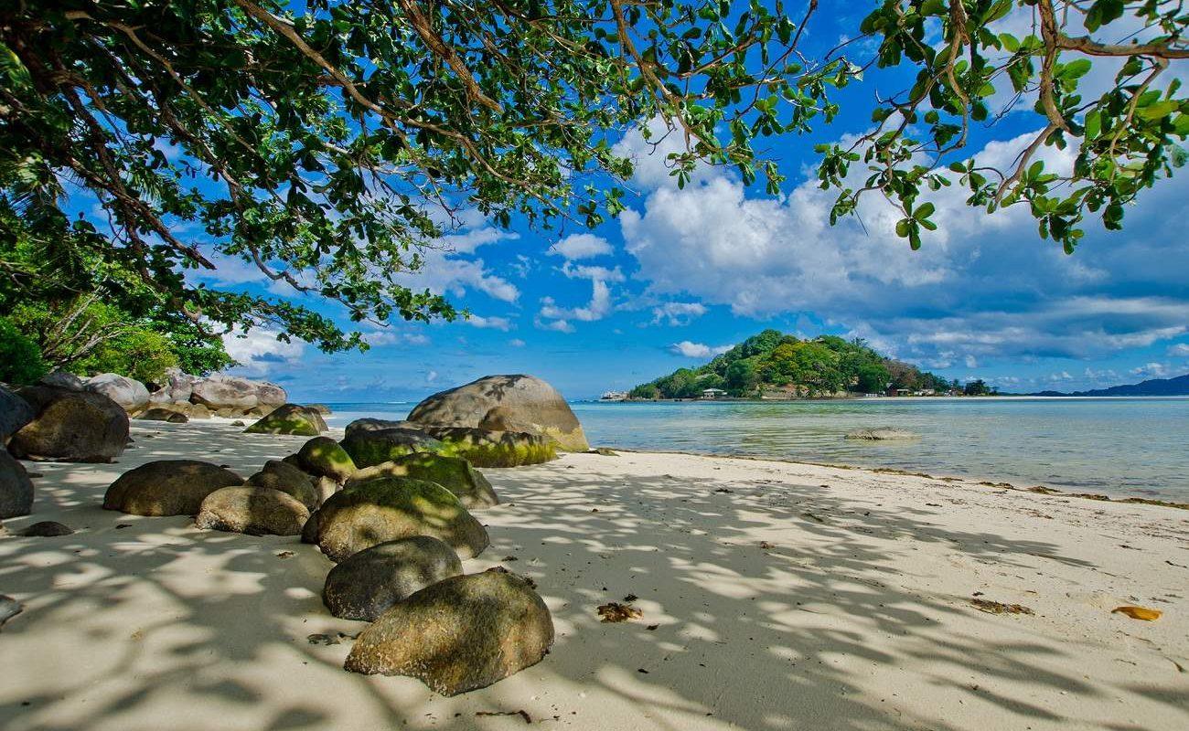 Blick auf das Enchanted Island Resort