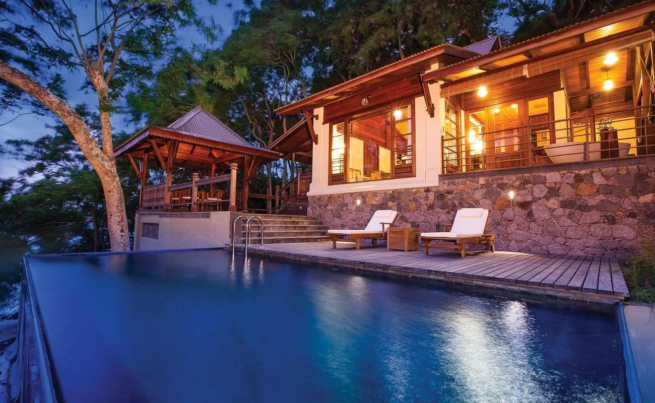 Pool Villa von Enchanted Island auf den Seychellen