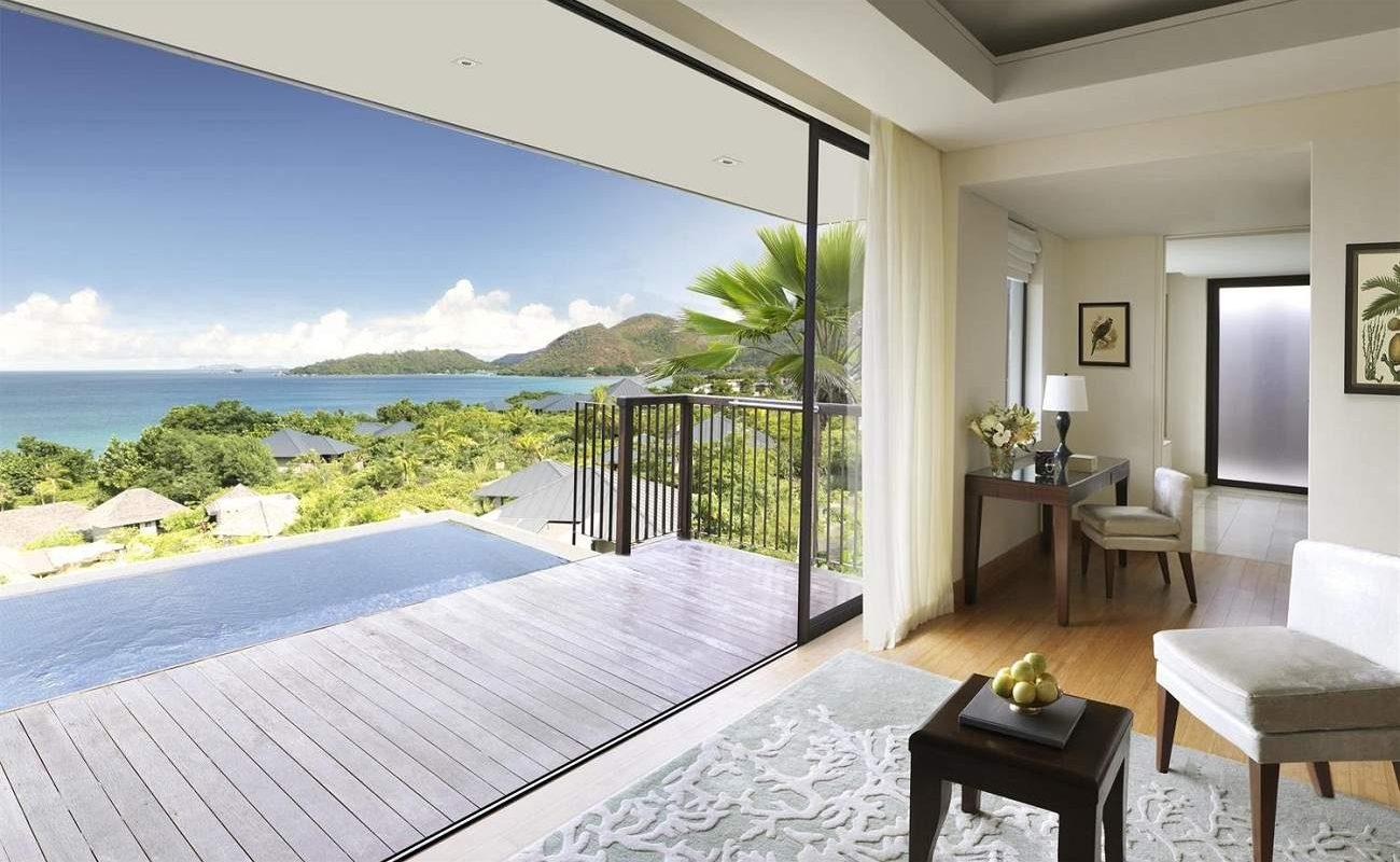Ocean View Pool Villa im Raffles Praslin