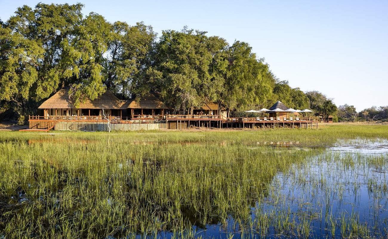 Das Haupthaus von Chief's Camp