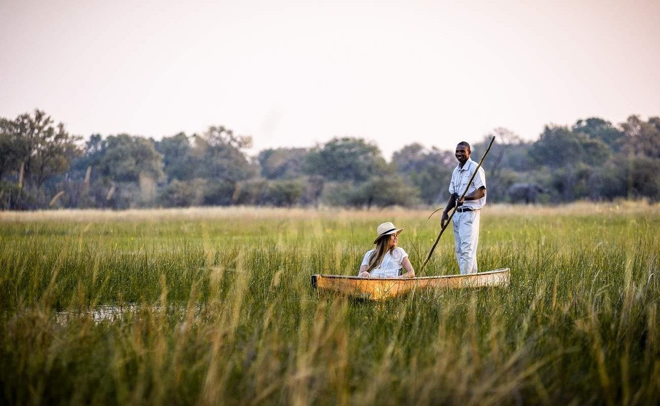 Mokoro Tour im Okavango Delta