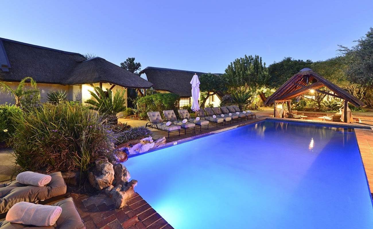 Pool der Villa Lobengula