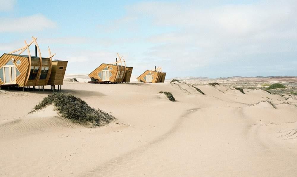 Shipwreck Lodge an der Skelettküste von Namibia