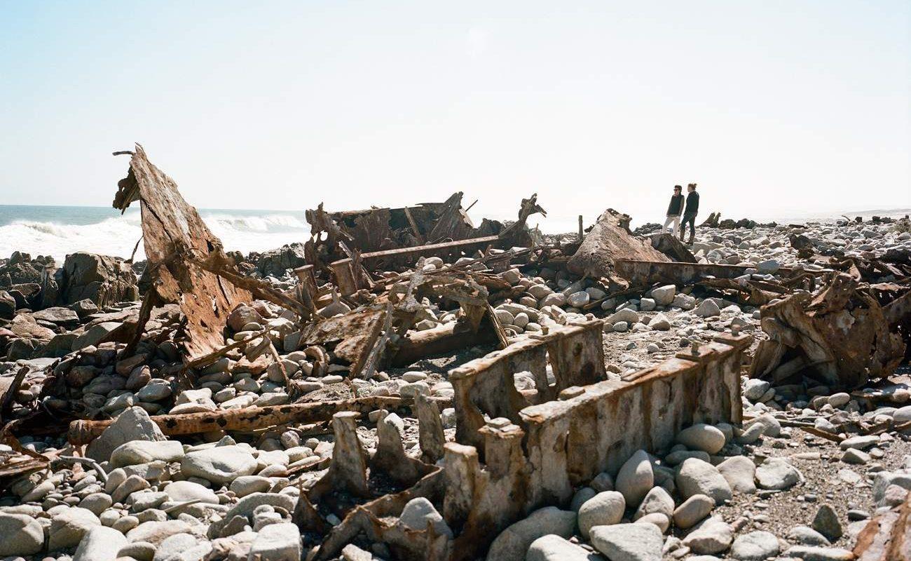 Schiffswrack an der Skeleton Coast