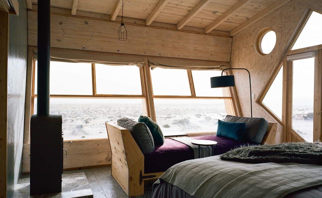 Zimmer der Shipwreck Lodge