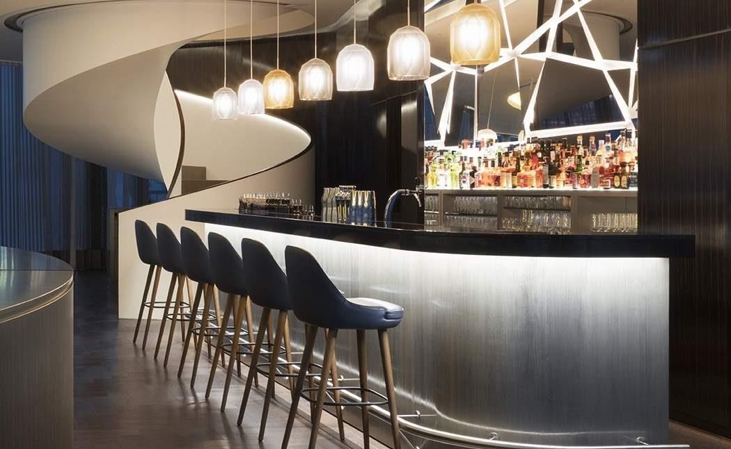 Bar des Luxushotels Fontenay