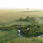Ballonsafari im Heißluftballlon über die Masai Mara in Kenia