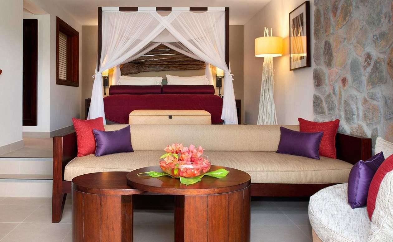 Seaview Room im Luxushotel Kempinski auf Mahé