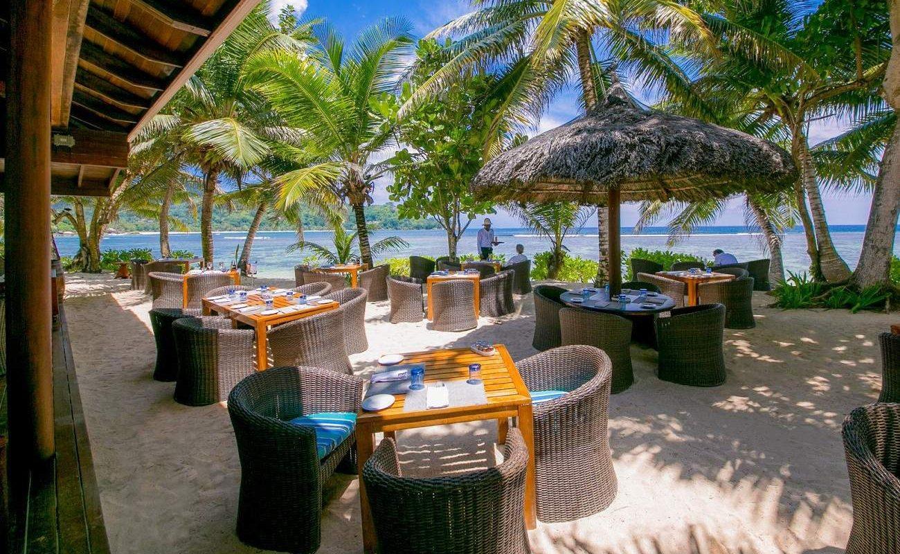 Windsong Beach Restaurant im Seychelles Kempinski