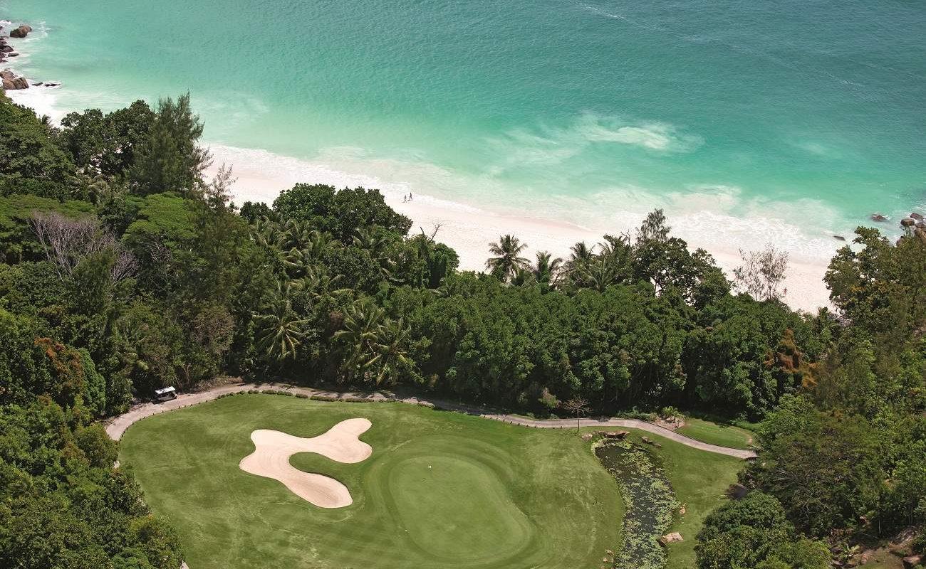 Golfspielen in Constance Lemuria auf den Seychellen