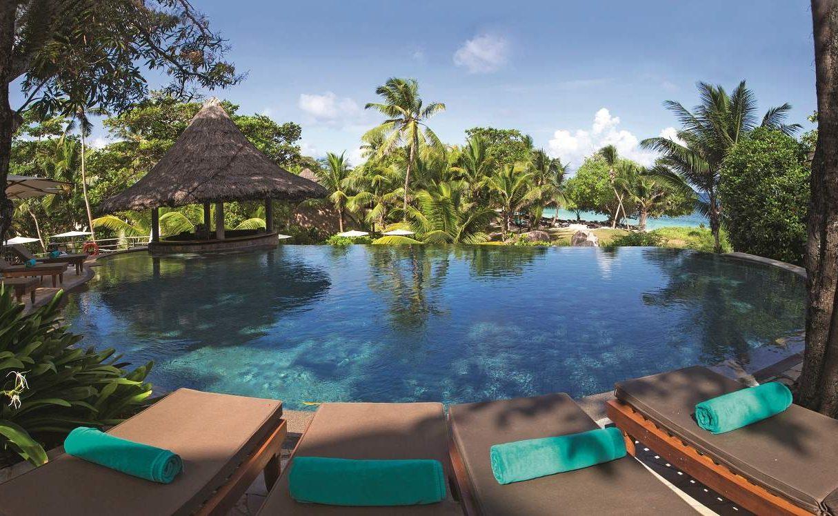 Pool des Constance Lemuria Seychelles
