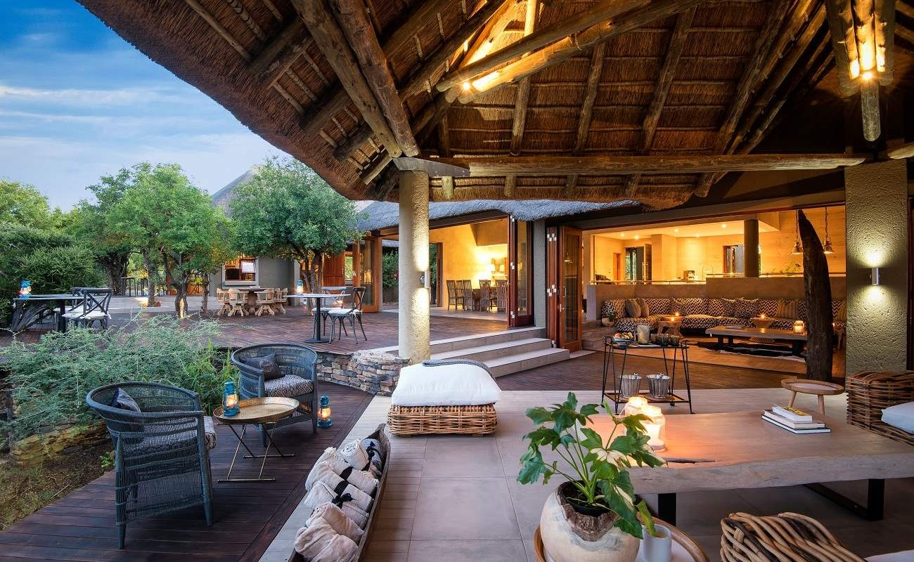 Haupthaus der Lush Private Game Lodge