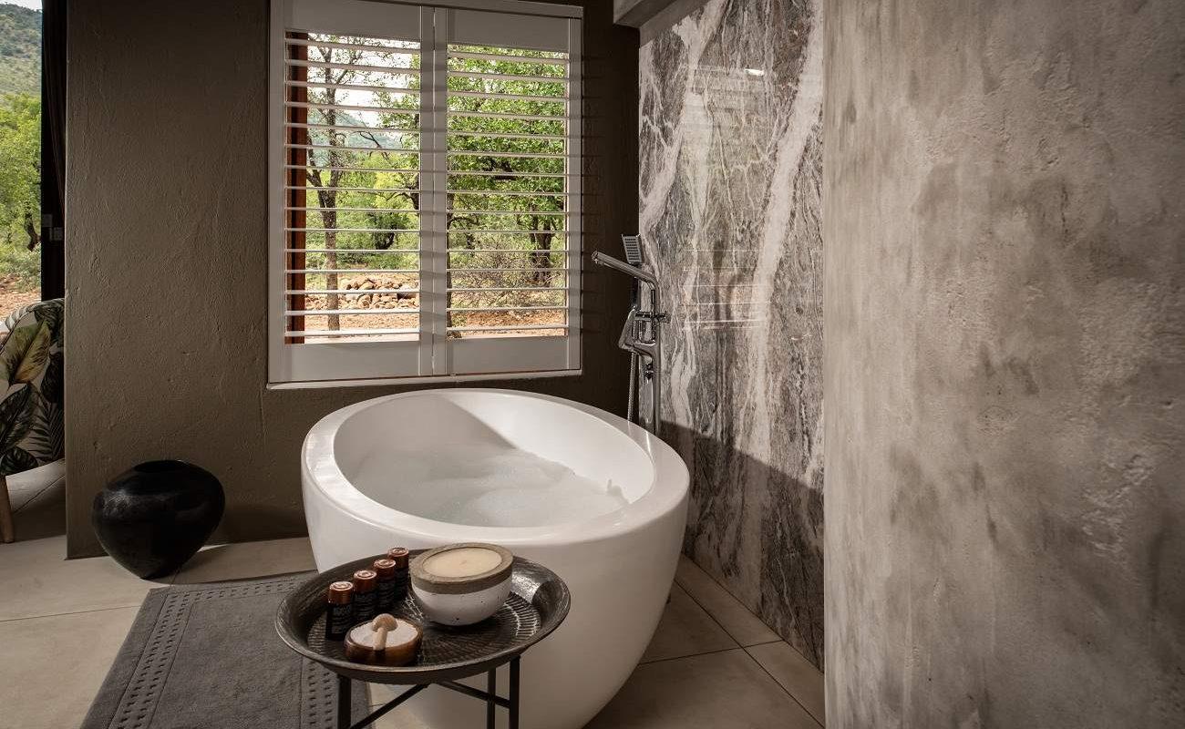Badezimmer einer Luxussuite