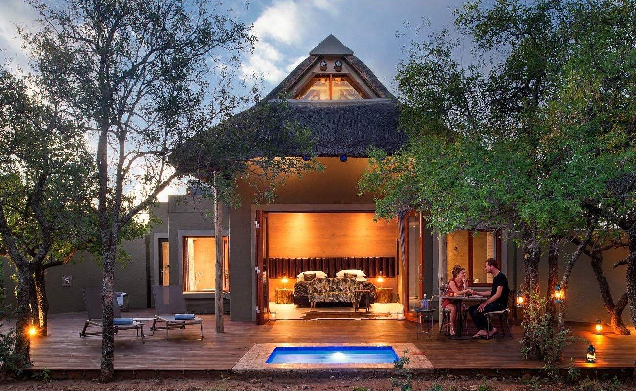 Suite in der Lush Private Lodge