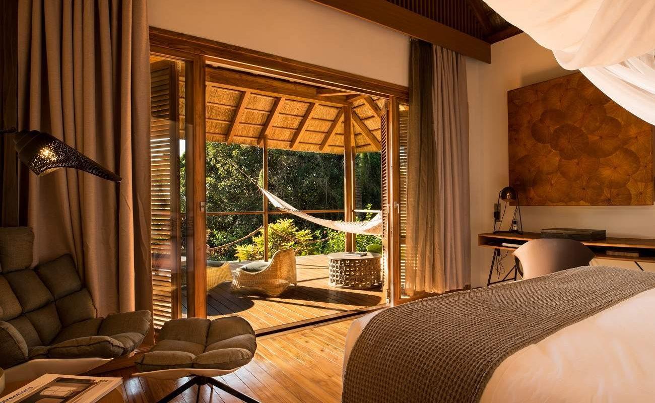 Schlafzimmer eines Bungalows von Zuri Zanzibar