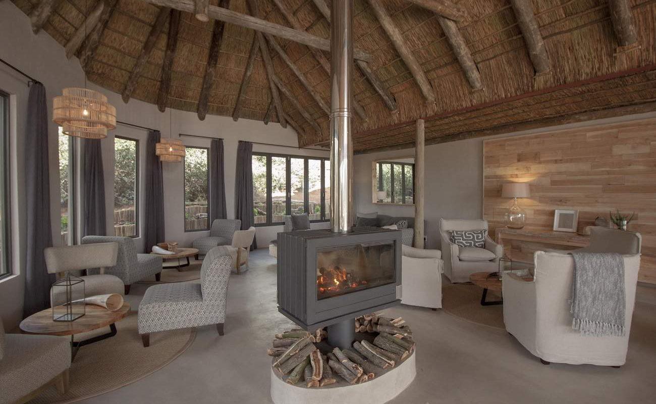 Lounge der Bukela Lodge in Amakhala