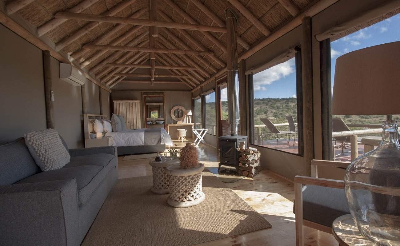 Luxuszelt in Bukela