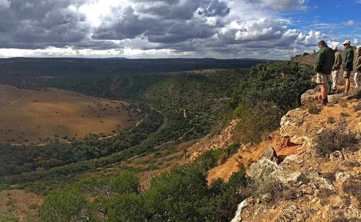 Die fantastische Landschaft des Amakhala Game Reserves