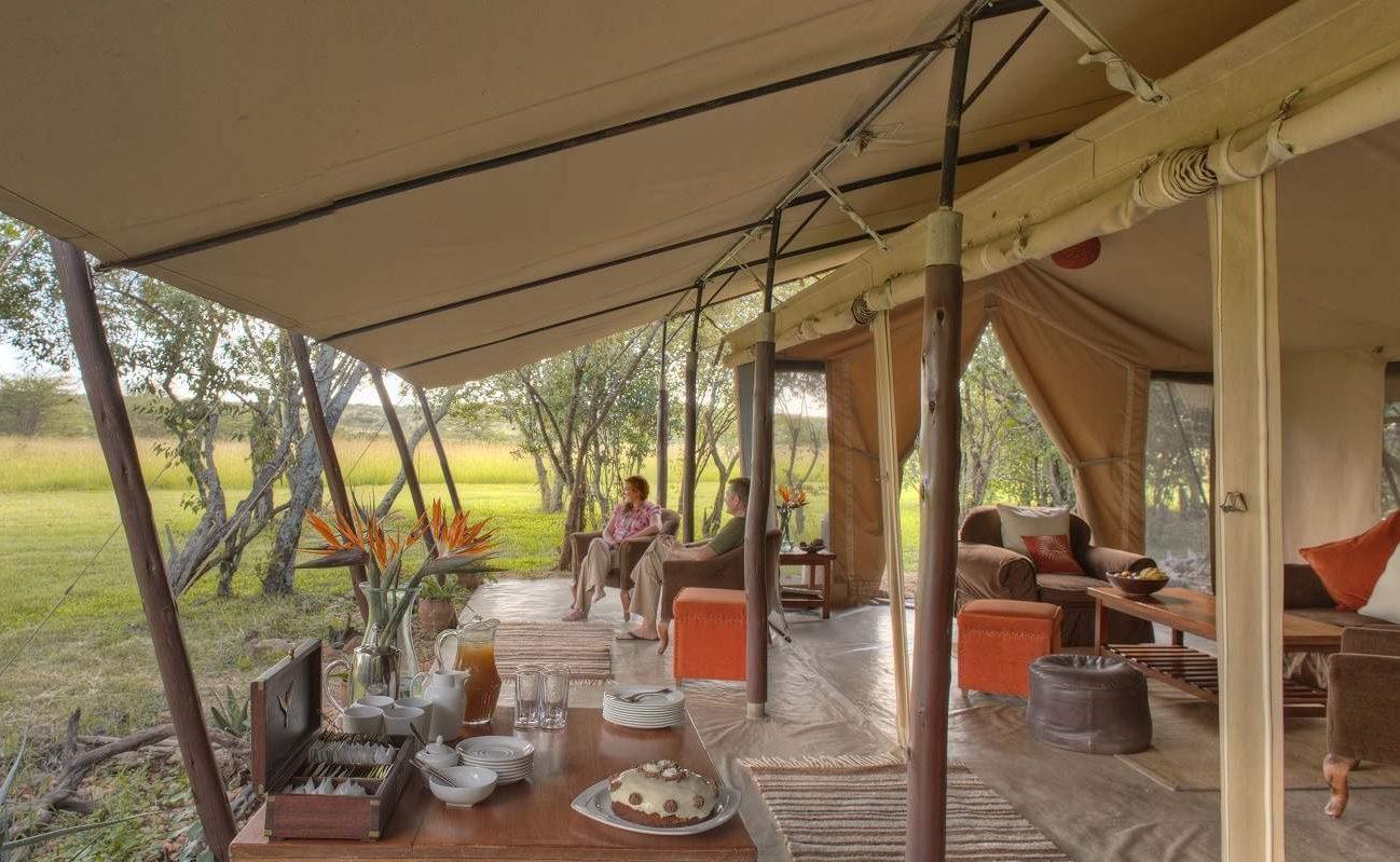 Afternoon Tee in Encounter Mara