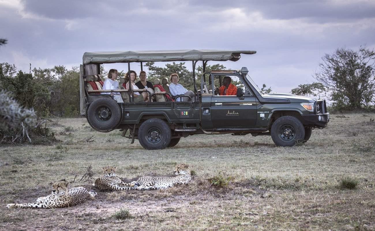 Pirschfahrt in der Naibosho Conservancy