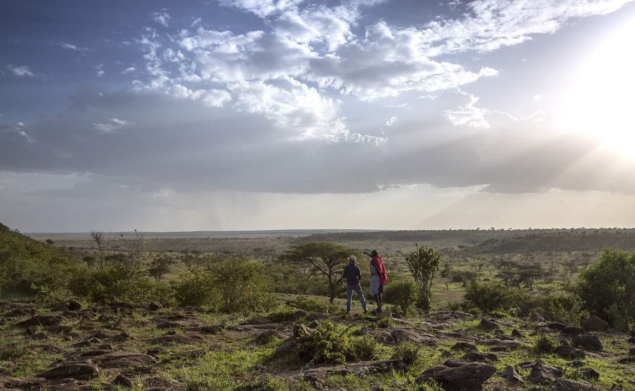 Walking Safari in der Naibosho Conservancy