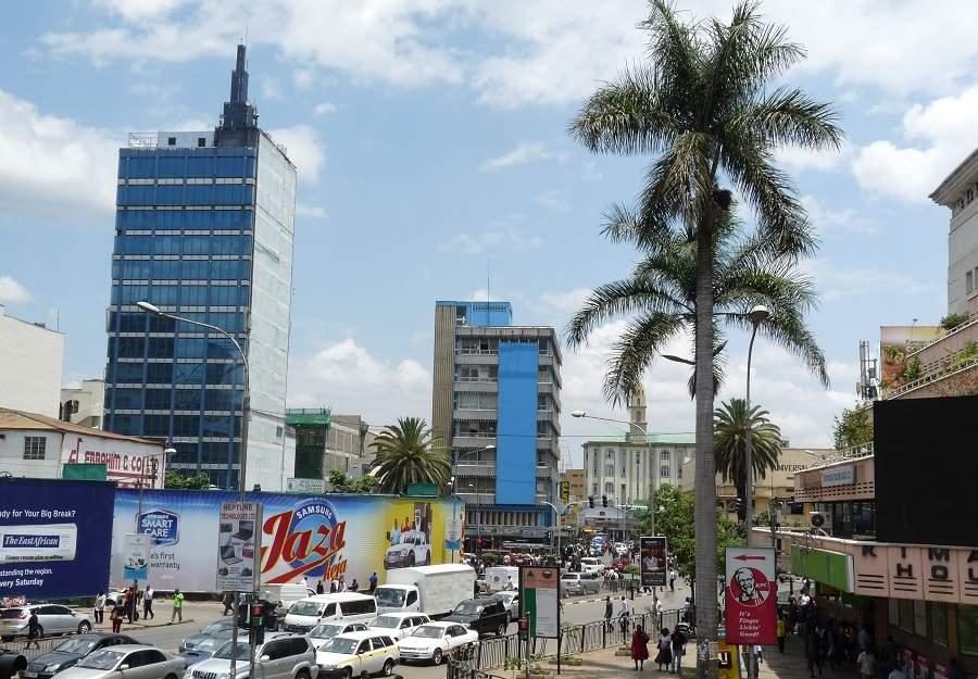 CBD in Nairobi