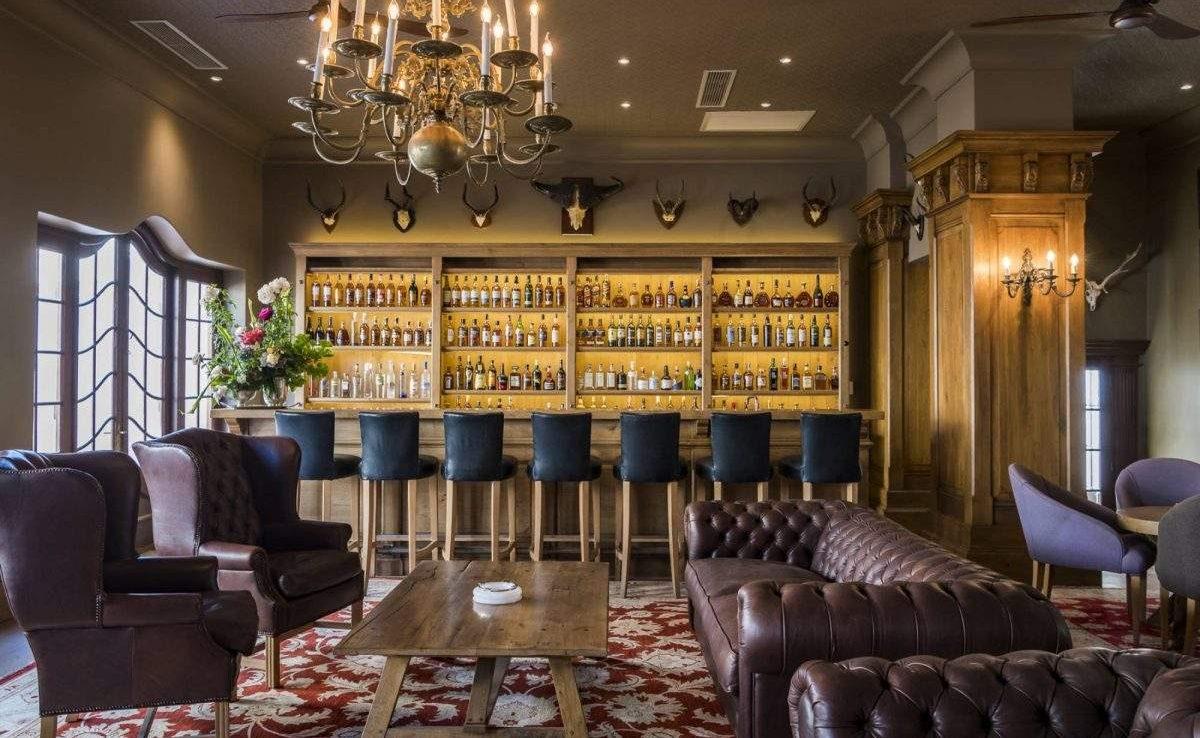 Craven Lounge im Weingut in Stellenbosch