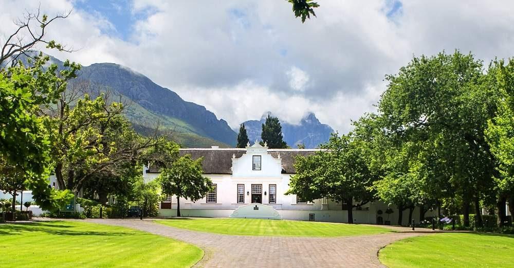 Buchen Sie das Luxushotel Lanzerac in Stellenbosch bei Ihrem Südafrika Spezialisten Genuss Touren