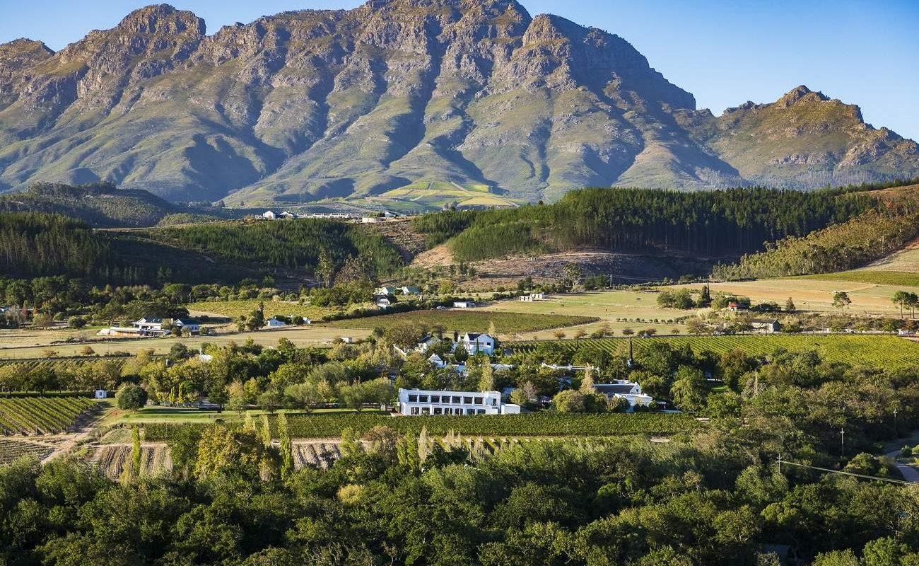 The Lanzerac Hotel & Spa im Jonkershoek Valley von Stellenbosch