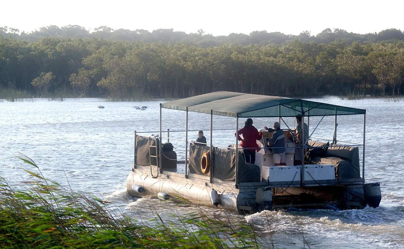 Bootsfahrt im St. Lucia Estuary