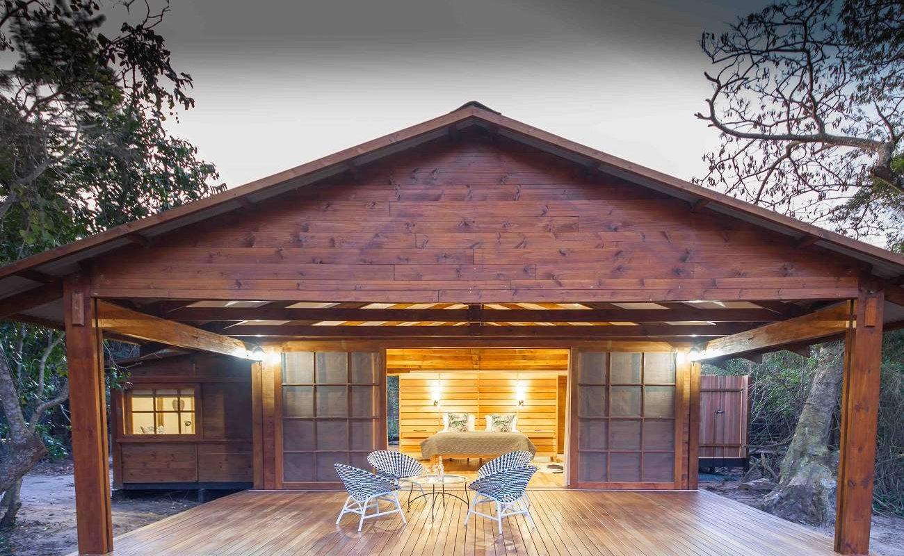 Blick auf die Family Suite in Makakatana